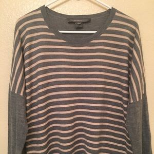 French Connection striped sweater.